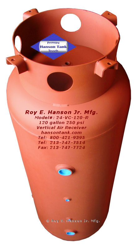 Prices Hanson Tank Asme Code Pressure Vessel Mfg