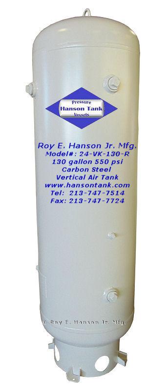 Prices - Hanson Tank Asme Code Pressure Vessel Mfg