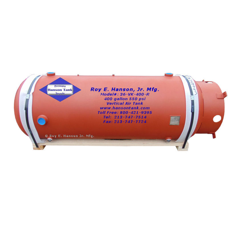 36-VK-400-R 400 gallon air storage tank