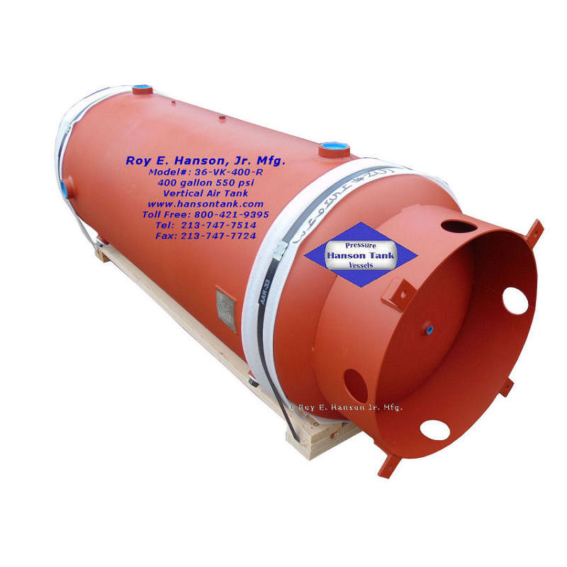 36-VK-400-R 400 gallon air receiver