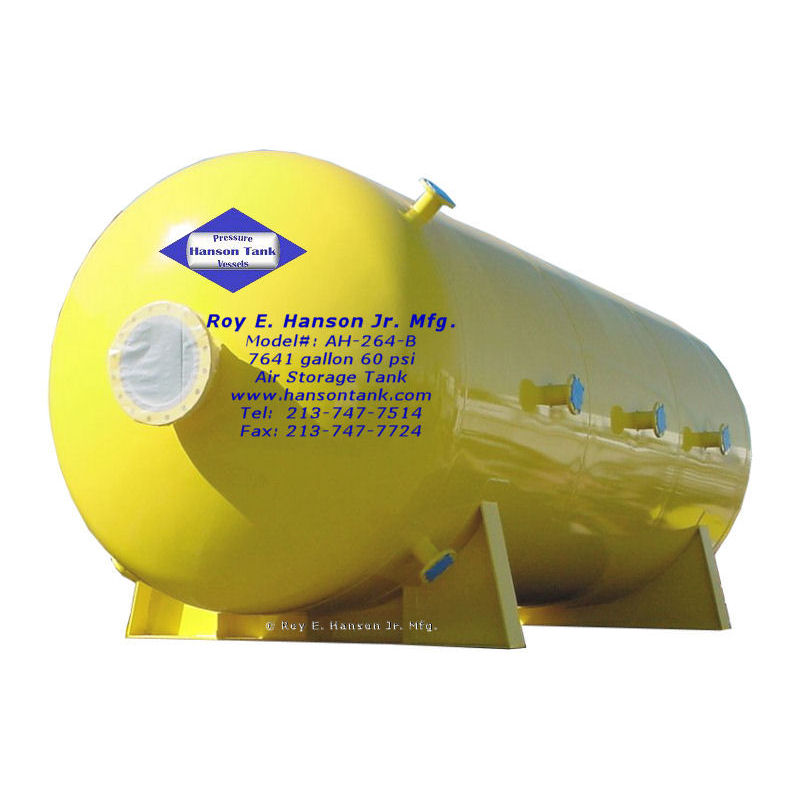AH-264-B epoxy lined air receiver