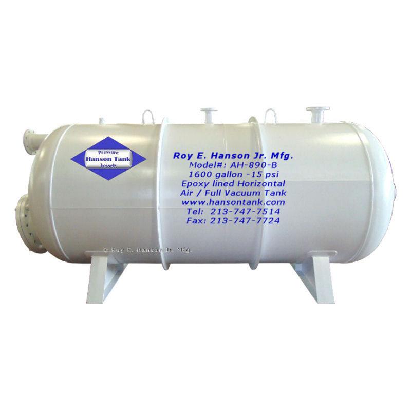 AH-890-B 1600 gallon vacuum tank