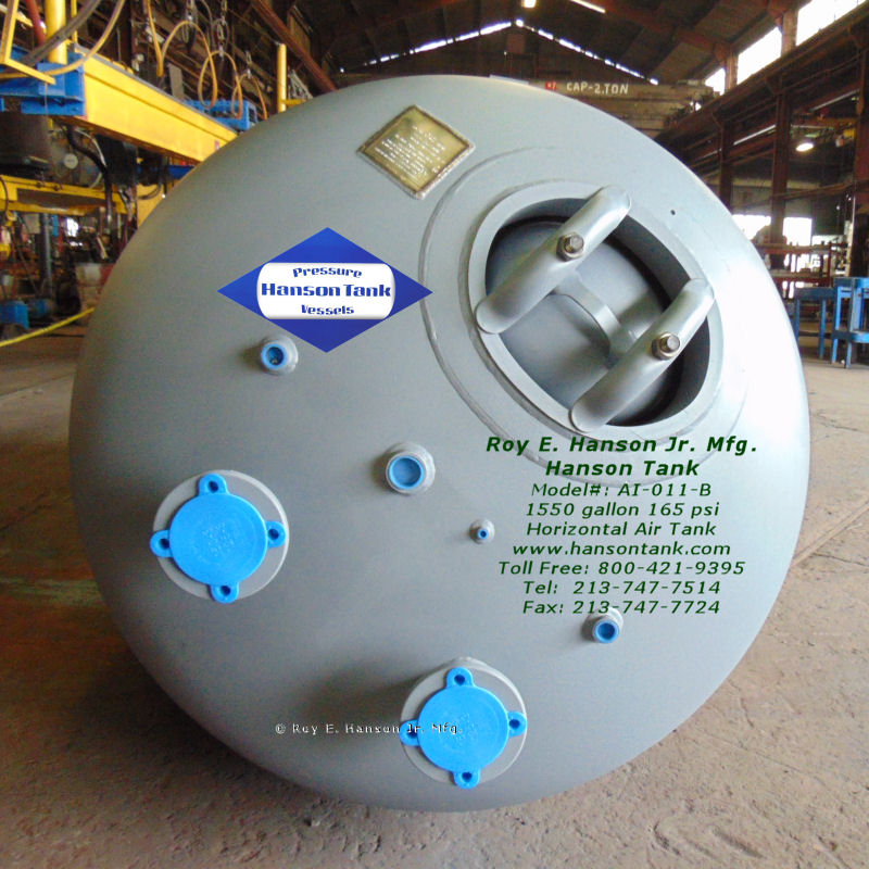 AI-011-B carbon steel air-vacuum tank