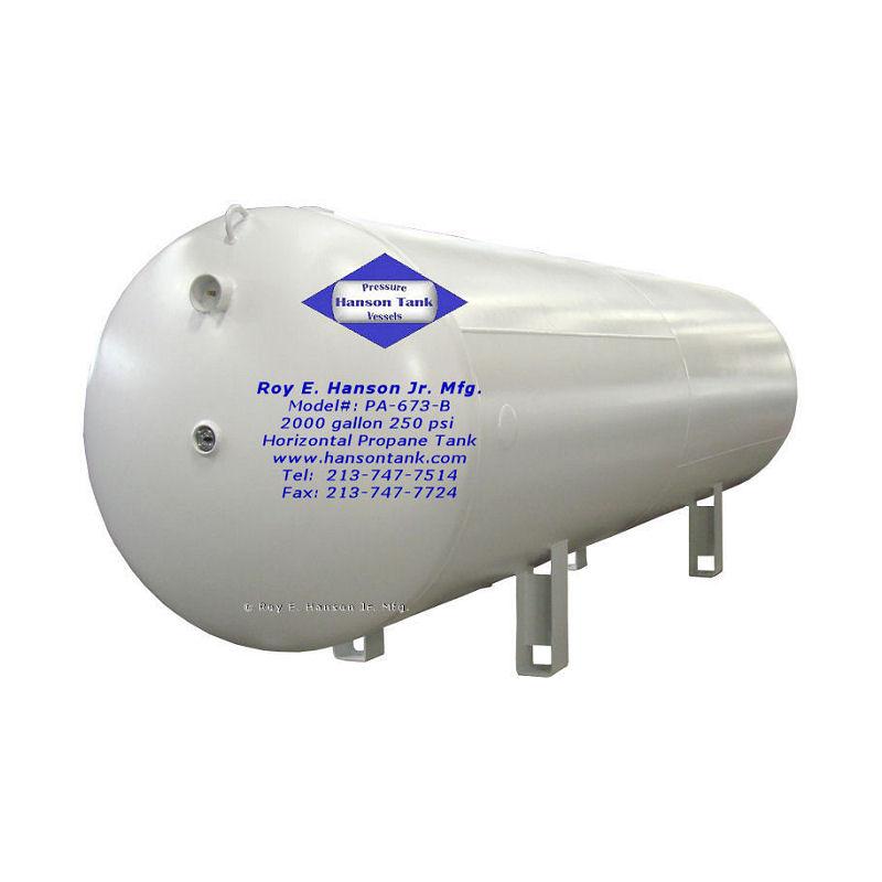 PA-673-B carbon steel air tank