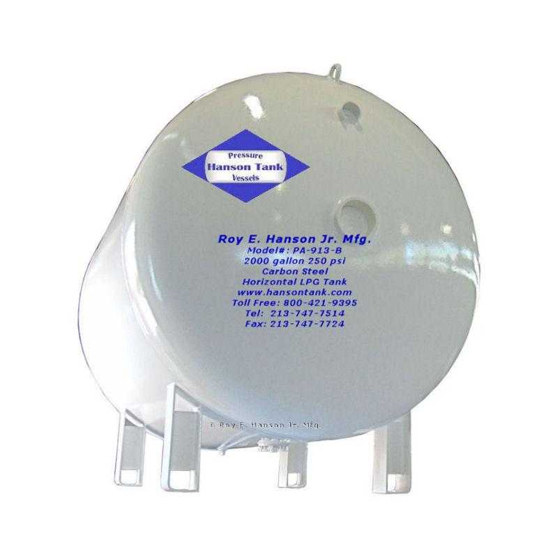 PA-913-B 2000 gallon lpg tank