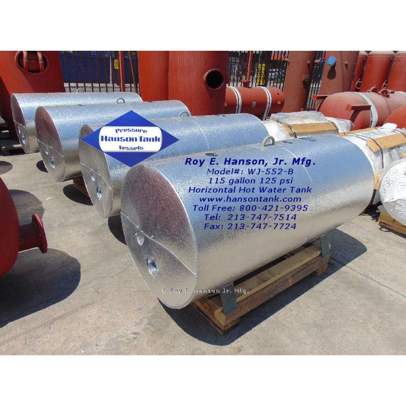 WJ-552-B 115 insulated hot water tank