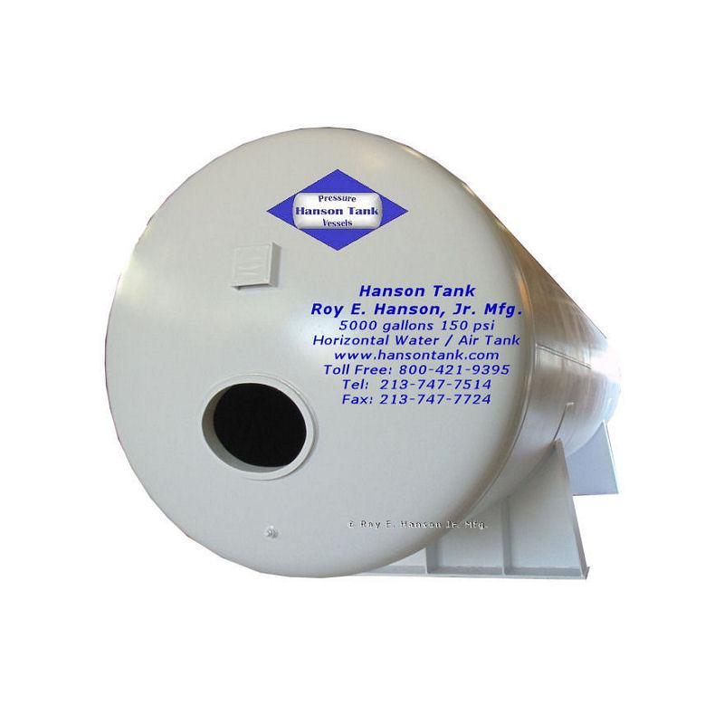 WP-066-B 5000 gallon air receiver
