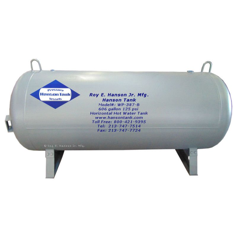 WP-387-B 606 gallon hot water tank