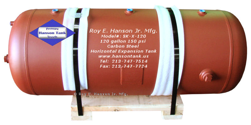 Horizontal Expansion Tanks