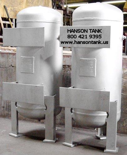 Stainless Steel Water Tanks - Hanson Tank Asme Code Pressure