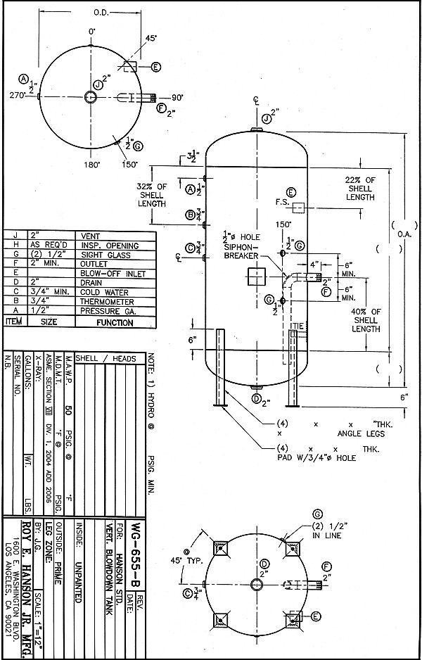 Watertanks on fuel gauge schematic