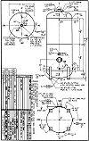 WN-394-B vertical hot water tank