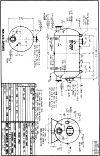 WO-329-B horizontal hot water tank