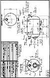 WO-450-B horizontal hot water tank