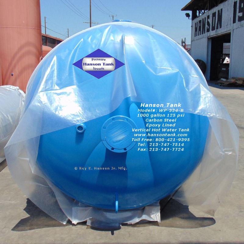 WP-324-B carbon steel hot water tank