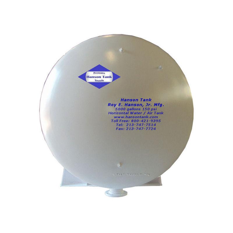 WO-066-B 5000 gallon air receiver