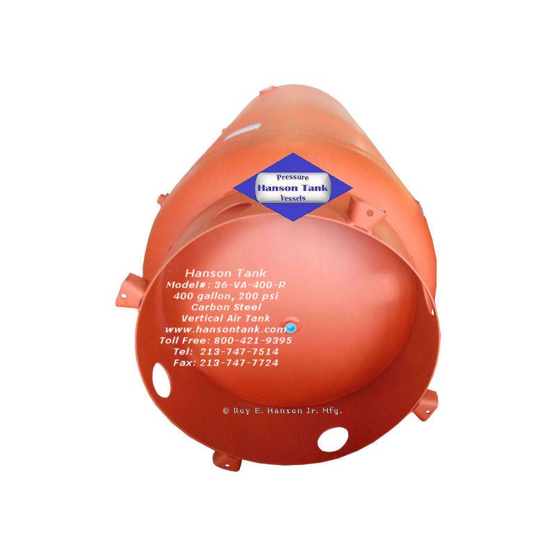 36-VA-400-R carbon steel air tank