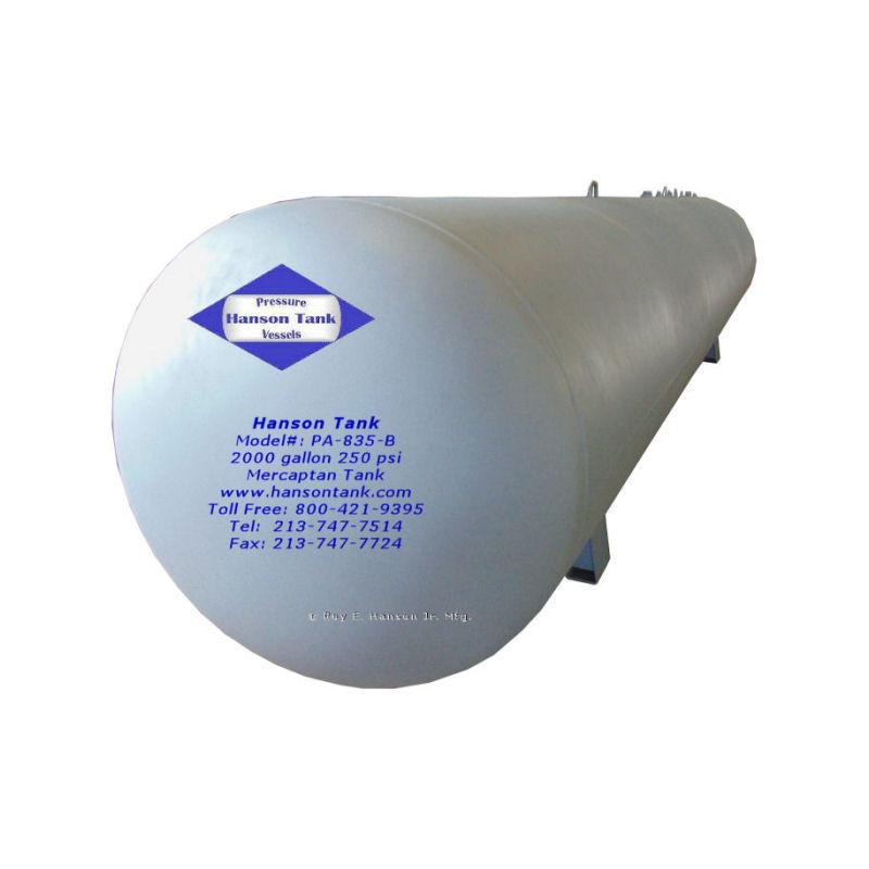 PA-853-B 2000 gallon mercaptan tank