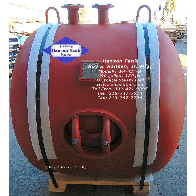 WP-424-B 5000 gallon steamtank