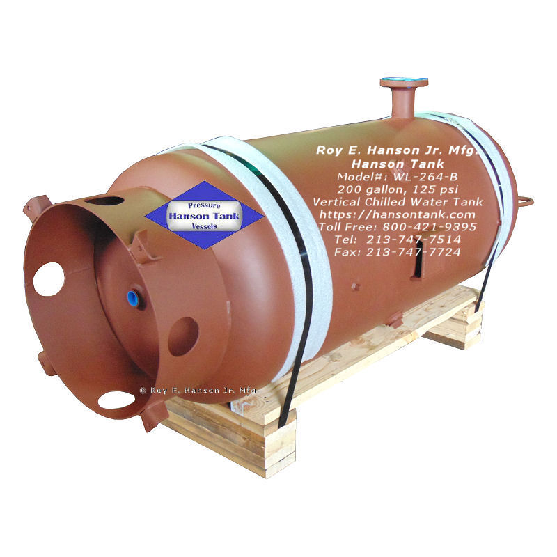 WL-264-B 200 gallon buffer tank