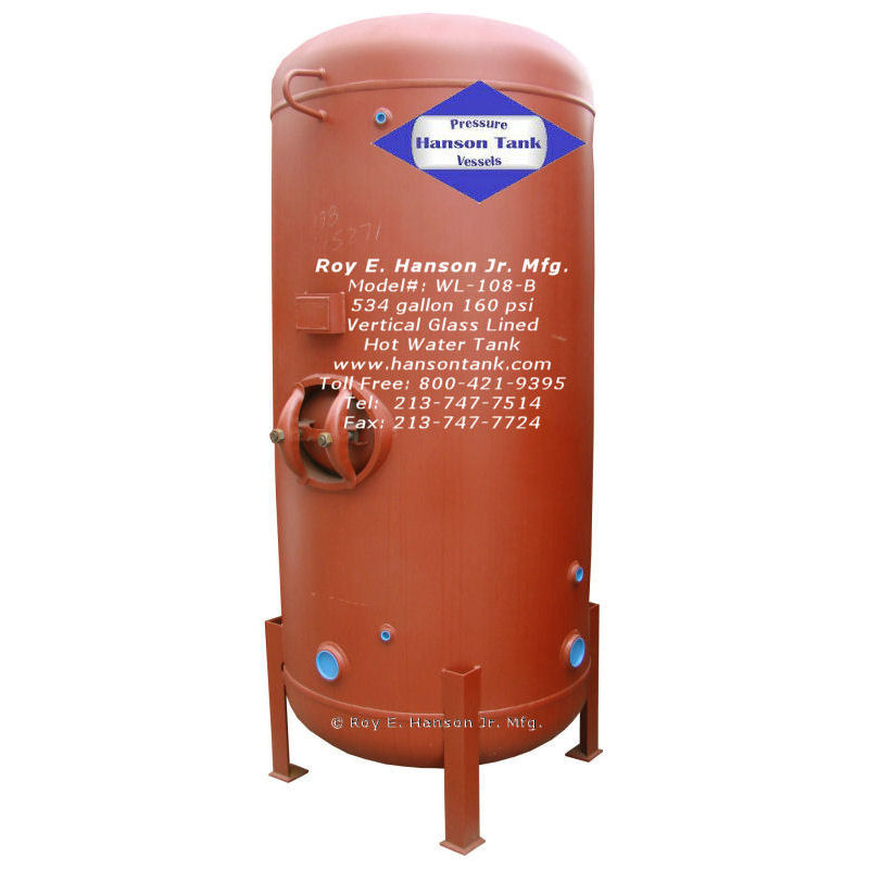 Hot water tanks
