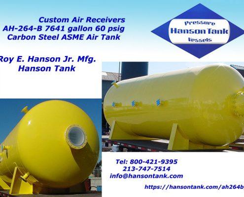 ah-264-b 7000 gallon air receiver