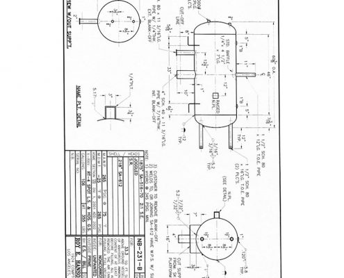 nb231b asme drawing