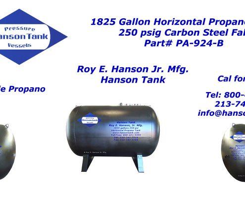 pa924b 1800 gallon propane tank