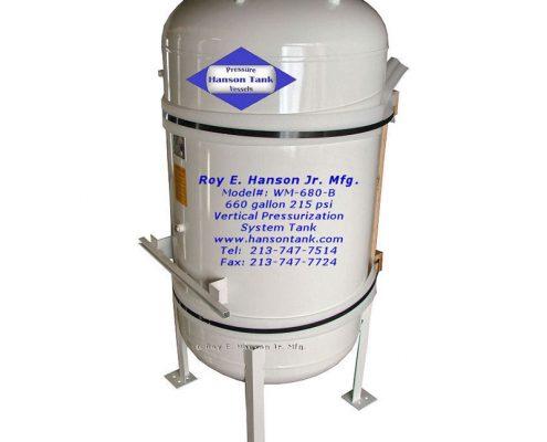 wm680b bladder tank