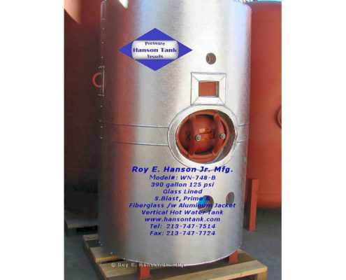 wn748b glass lined hot water tank