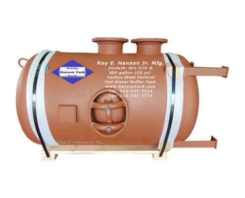 wo529b hot water buffer tank