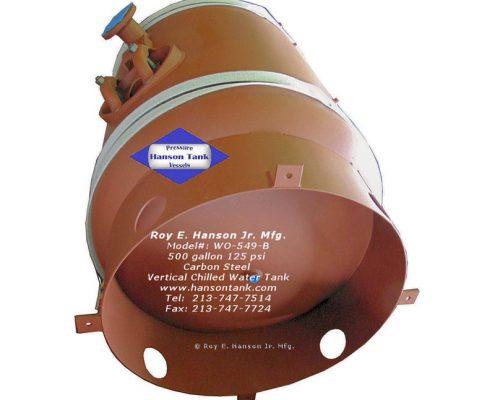 wo-549-b chilled water tank