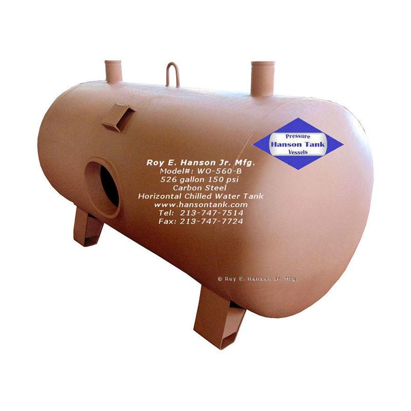 WO-560-B Horizontal Chilled Water Tank