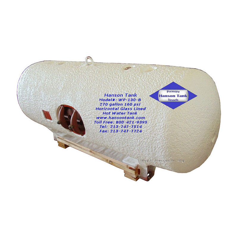 WP-130-B Insulated Glass Lined Tank