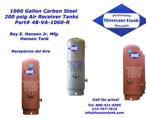 48va1060r vertical air receiver