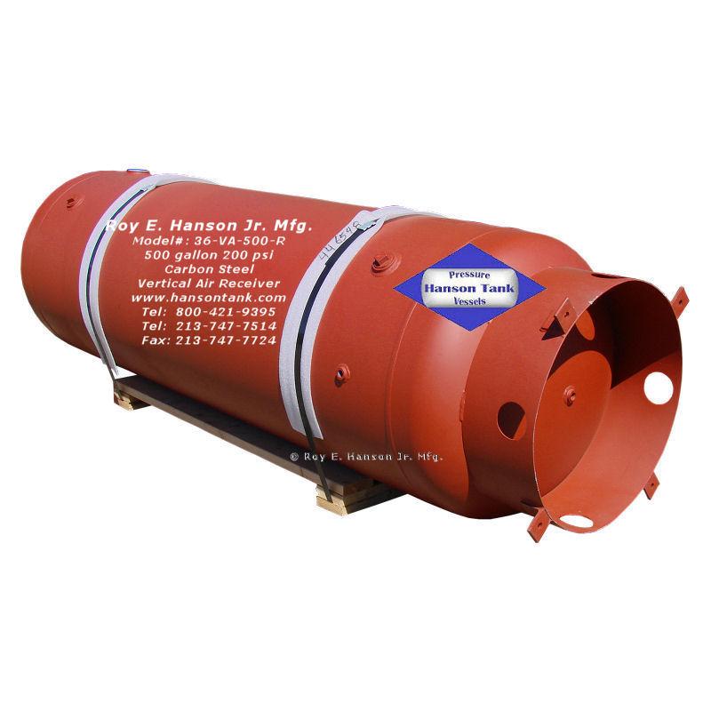 36-VA-500-R 500 gallon air receiver