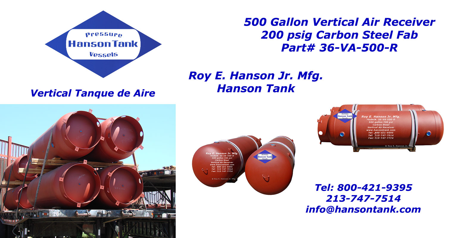 hanson air receivers