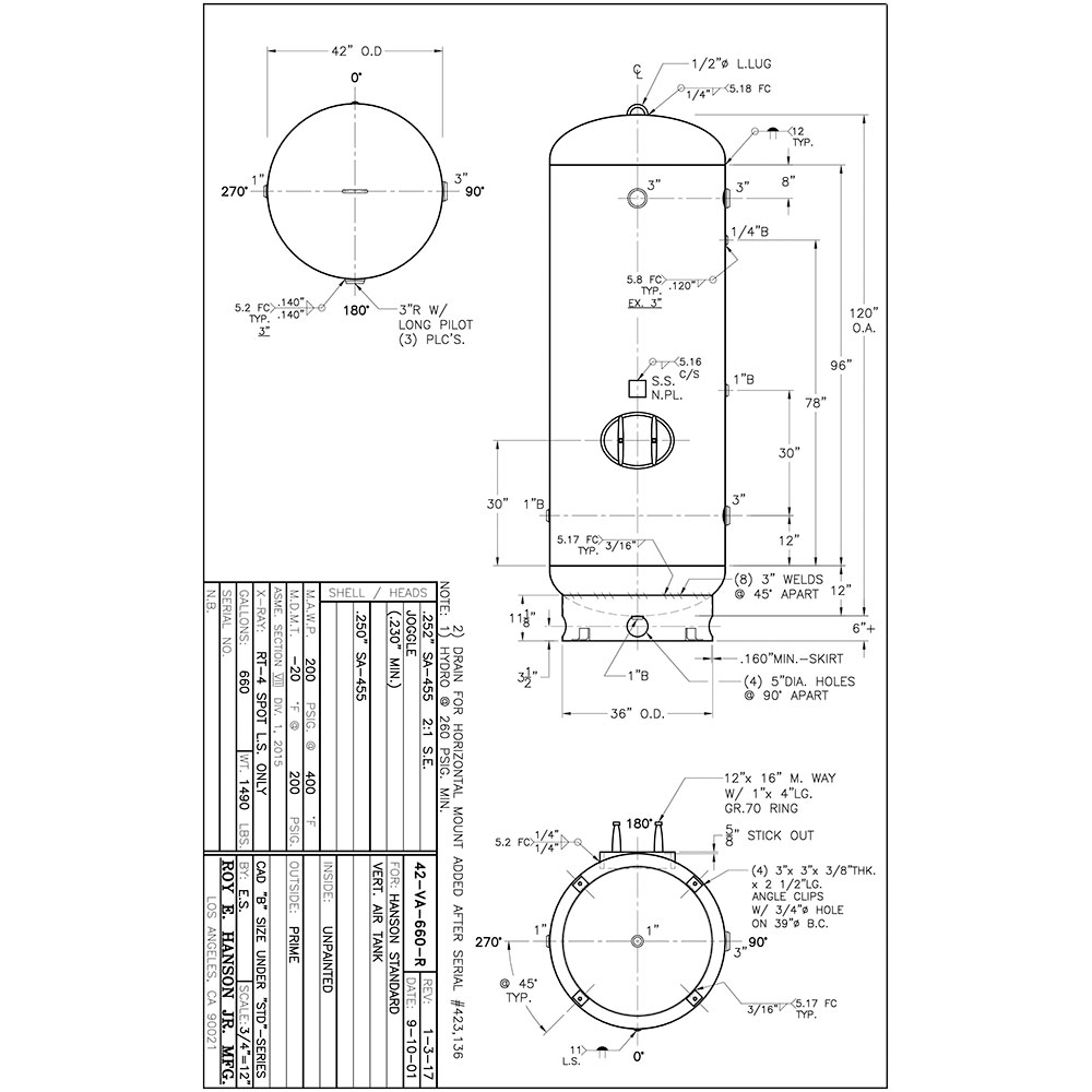42-va-660-r 660 gallon vertical air receiver