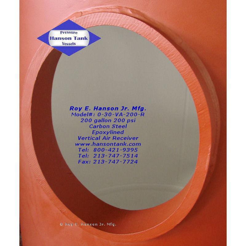 0-30-VA-200-R epoxy lined air tank