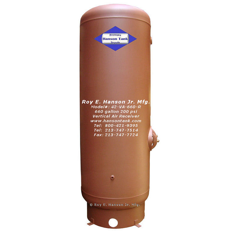 42-VA-660-R 660 gallon unlined tank