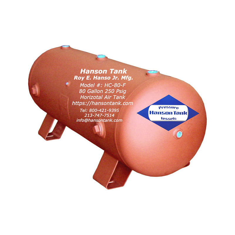 HC-80-F Compressed Air Tank