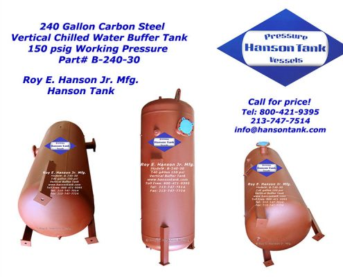 b-240-30 240 gallon bladder tank