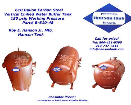 B-610-48 610 Gallon Buffer Tank