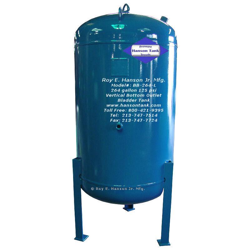 BB-264-L 264 gallon bladder tank