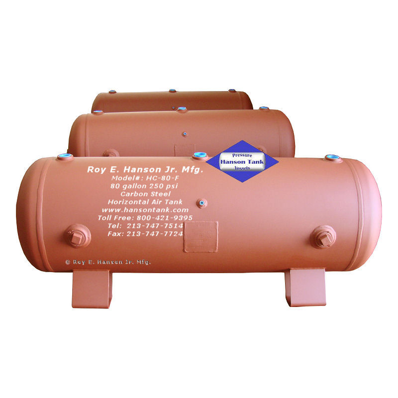 HC-80-F 80 Gallon Compressed Air Tank