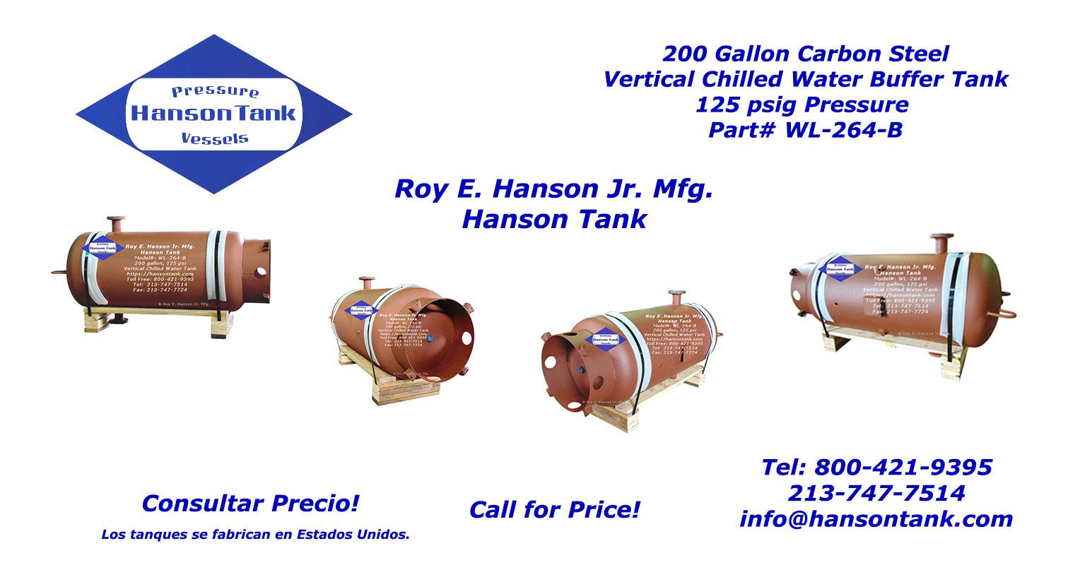 WL-264-L hanson tanques bufer