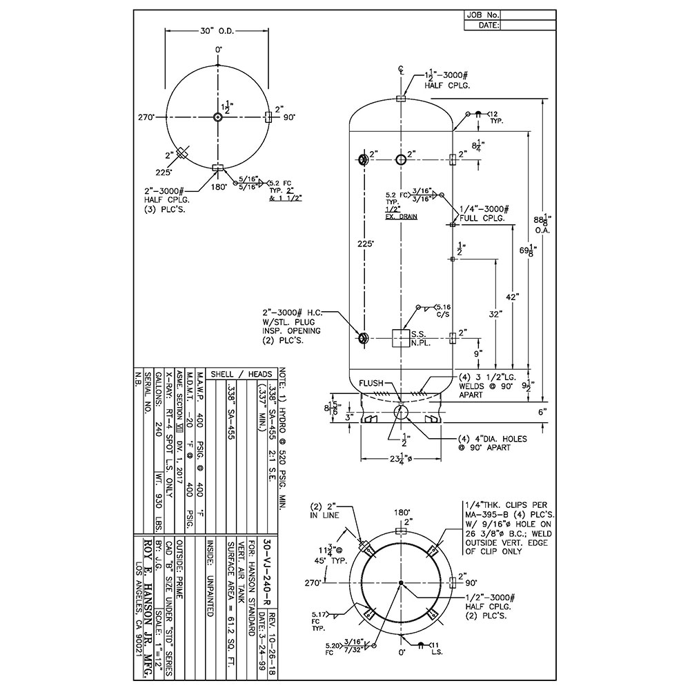 30-vj-240-r 240 gallon vertical air receiver
