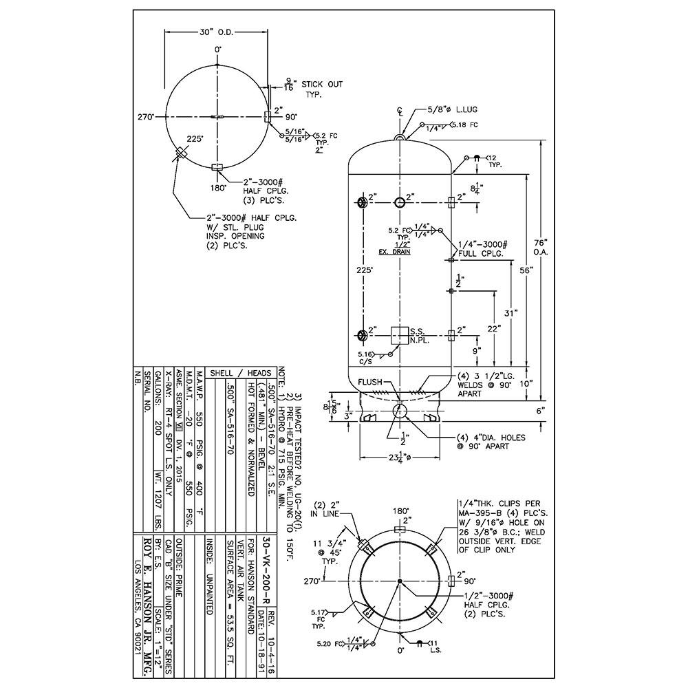 30-vk-200-r 200 gallon 550 psig vertical air receiver