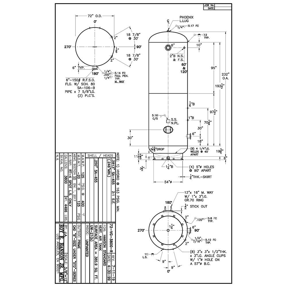 72-vg-3800-r 3800 gallon vertical air receiver