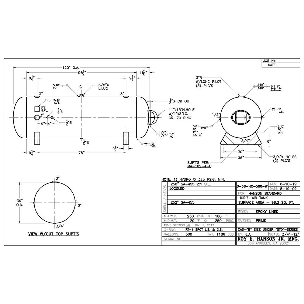 0-36-hc-500-w air  receiver